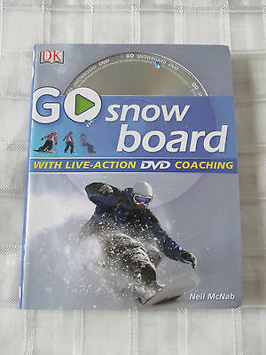 DK Go snowboard book and dvd