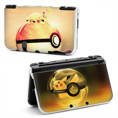COQUE POKEMON PIKACHU NEW NINTENDO 3DS XL POKEBALL cover PROTECTION protect