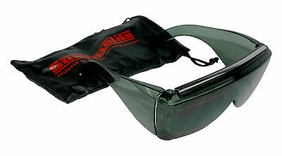 SUNSHIELDS Premier Sailing Smoke Marked Case Tinted Lens Fit Over Sunglasses
