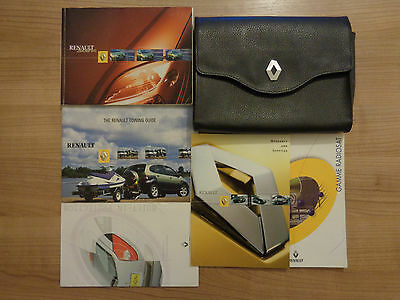 Renault Scenic Owners Handbook/Manual and Pack 00-03