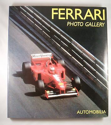 2 Ferrari books; FERRARI Photo Gallery + FERRARI 40 Years - both v. good cond.