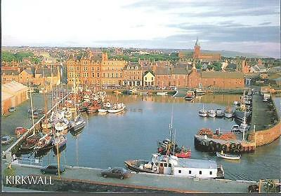 Kirkwall, Orkney - Harbour - postcard by Tait