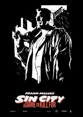 Sin City A Dame To Kill For - A4 Glossy Poster -TV Film Movie Free Shipping #612