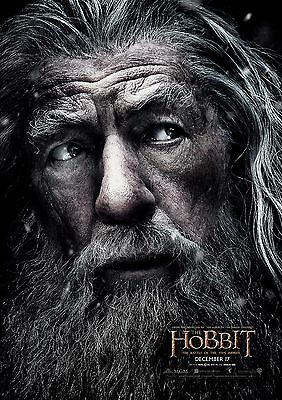 The Hobbit - A4 Glossy Poster -TV Film Movie Free Shipping #621