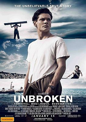 Unbroken - A4 Glossy Poster-TV Film Movie Free Shipping #666