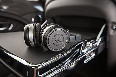Bentley Headphones In-car & Case + Cable - Genuine Bentley Part - BNIB