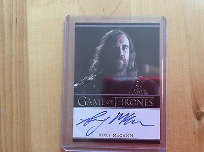 Game of thrones autograph card Rory McCann