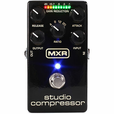 Jim Dunlop MXR M76 Studio Compressor Guitar Effects Pedal