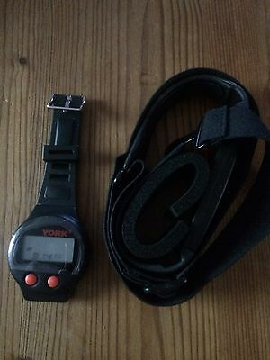 York Fitness Heart Rate Monitor - NEW
