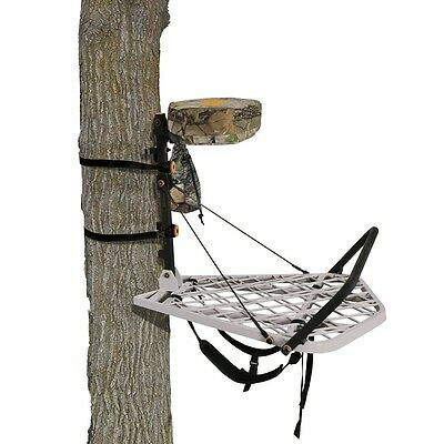 New 2015 Muddy Outdoors The Hunter Aluminum Hang On Treestand Model# MFP3300-A