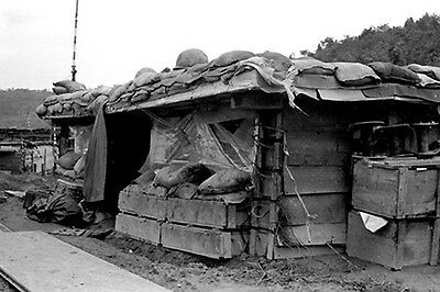 Vietnam 1970 - Bunker At LZ Ky Tra Chu Lai Area