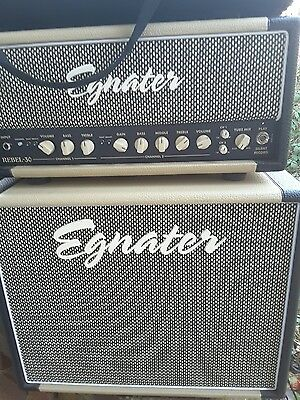 Egnater rebel 30 amplifier and 1x12 cab