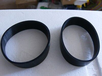 (2) Tristar Power Nozzle Belts For Older Style Brand New.