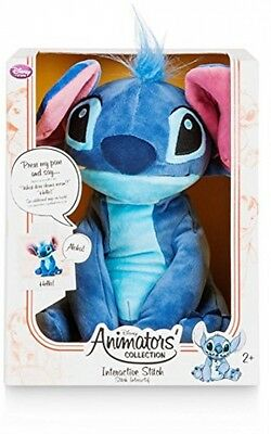 Official Disney Lilo and Stitch 25cm Animator Collection Interactive Stitch Toy