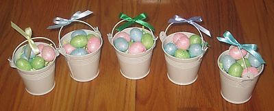 American Girl Doll Easter Pail and Eggs