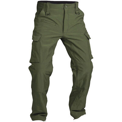 "Mil-Tec Soft Shell Pants ""Explorer"" Expedition Mens Lightweight Trousers Olive"