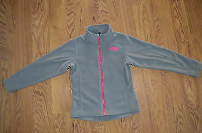 EUC Girls Size S 7/8 The North Face Fleece Liner Jacket