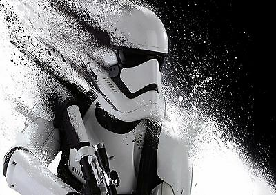 Star Wars Storm Trooper - A4 Glossy Poster -TV Film Movie Free Shipping #681