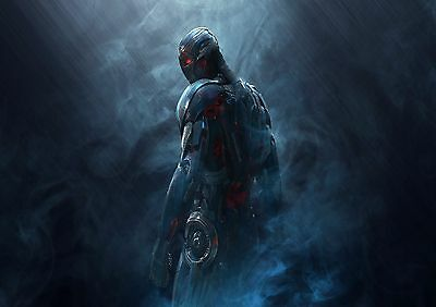 Marvel's Ultron - A4 Glossy Poster -TV Film Movie Free Shipping #689
