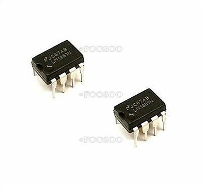 2Pcs Lm1881 Lm1881n Geniune From Ns Dip-8 New Ic M
