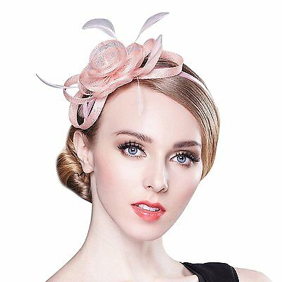Womens Fascinator for Tea Party Derby Hat Banquet Head Wear