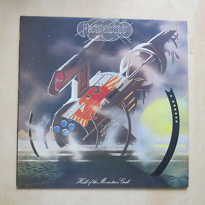 HAWKWIND Hall Of The Mountain Grill UK 1st press vinyl LP with inner A2/B2 Ex++