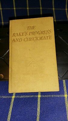 The Rake's Progress & Checkmate Stories of Ballet by M. Robertson~Hb~1st Ed~1949