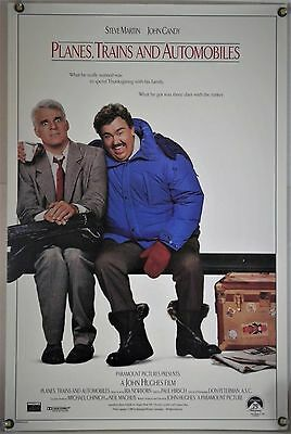 Planes, Trains And Automobiles Rolled Orig 1Sh Movie Poster John Candy (1987)