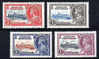 Somaliland Protectorate KGV 1935 Silver Jubilee SG86/89 Fine LMM Set