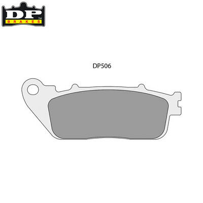 HONDA CB 1000 R 2008-2016 DP Brakes Street Sintered Rear Brake Pads - DP506