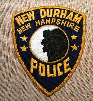 NH New Durham New Hampshire Police Patch