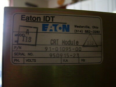 Panelmate Pwr Ser. Eaton Idt 91-01095-00,92-00968-02 All For 1 Money Used
