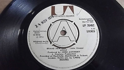 "Gypsy, Brand New Car,7"" Uk Demo Release. 1972. Up35462, Excellent Vinyl"