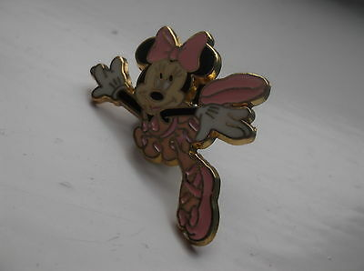 Disney's Minnie Mouse Ballerina In Pink Pin Badge
