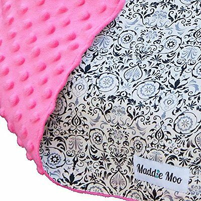 Carseat Canopy with Pink Minky - Best Car Seat Canopy for Popular Baby Carsea...
