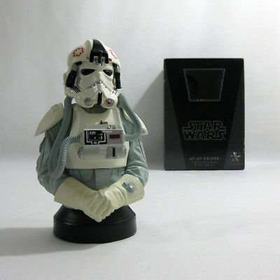 2009 Vintage Star Wars ✧ AT-AT Driver ✧ Gentle Giant ESB Bust MIB