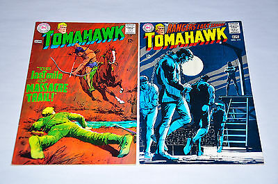 Tomahawk 116 117 Silver Age Lot Neal Adams Cover