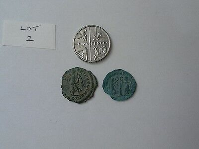 Two unresearched Roman Ae coins (Lot 2)