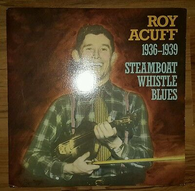 Roy Acuff Lp Steamboat Whistle Blues Original Rounder Records P 18665  Free Post
