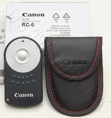 RC-6 Remote Shutter Release Trigger for Canon EOS D-SLR Camera 750D 760D 80D RC6