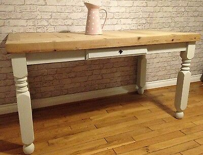 Rustic Shabby Chic Farmhouse Dining Table Mexican Pine