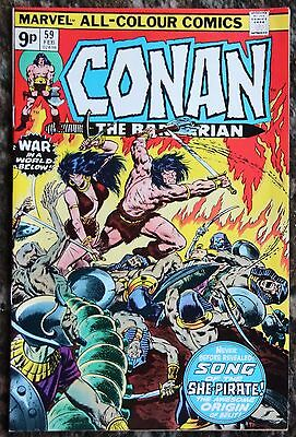 Conan The Barbarian 59 - Marvel Comics