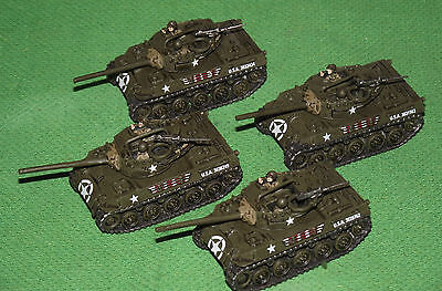 Well Painted 15mm Flames of War US M18 Hellcat Platoon