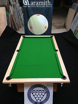 Pool Table Fold Away. Heavy Duty. League Spec Solid wood top frame 6' & 7' sizes