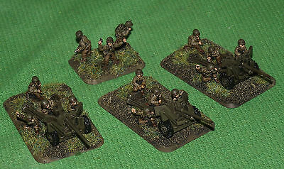 Well Painted 15mm Flames of War US 57mm ATG Platoon