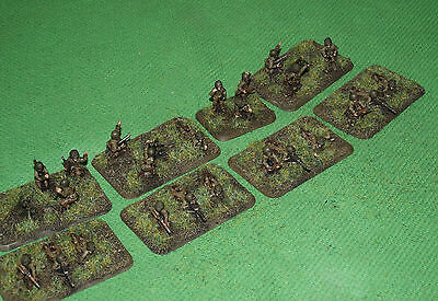 Well Painted 15mm Flames of War US Weapons Platoon
