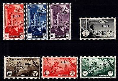 Libya 1941 - Airmail Sc# C44 - C50 Mint Never Hinged Set