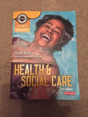 Health and Social Care Level 2 Diploma Textbook