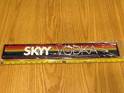NEW Skyy Vodka Rainbow Bar Spill Mat Rail Runner