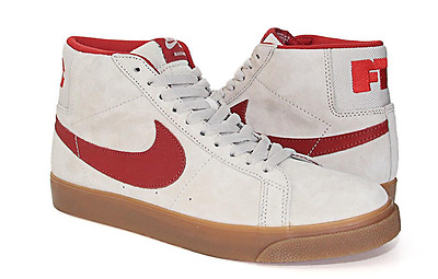 NIB! Nike SB Blazer Zoom Mid QS Shoes. FTC. Light Bone. sizes 8 - 11